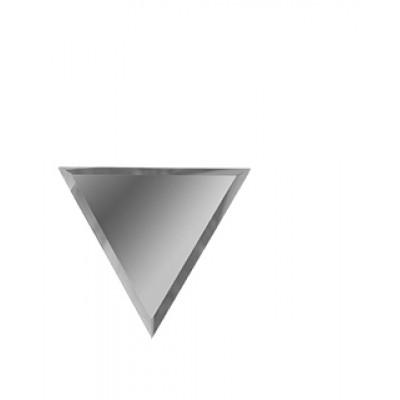 Зеркальная плитка с фацетом ромб верх-низ серебро